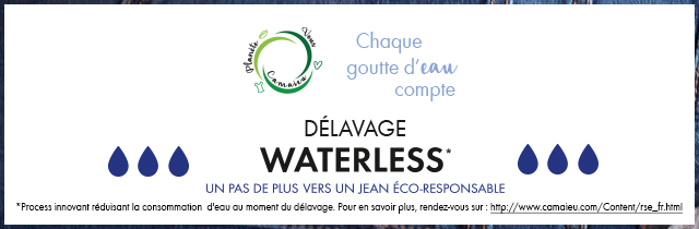Délavage Waterless